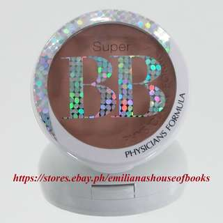 1PC. SUPER BB ALL-IN-1 BEAUTY BALM POWDER MAKEUP COSMETICS 8.3G #LIGHT/MEDIUM