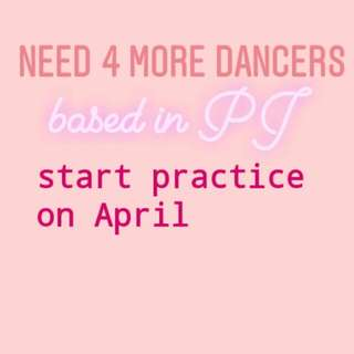 NEEDS 4 KPOP DANCERS