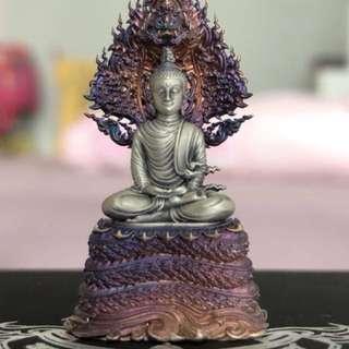 Phra Kring + Phayanak (Roop Lor) Amulet