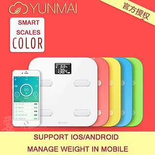 Yunmai Smart Health Scale Color/Premium Version-Local Set with English Manual! Local 1 Year Warranty
