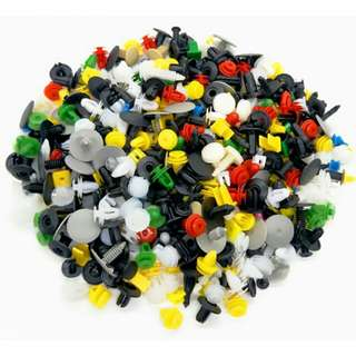 Baut Rivet Mobil Universal 200PCS - Multi-Color