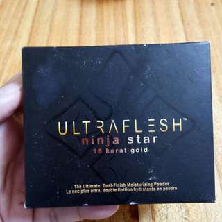 Bedak ultraflesh ninja star 18 karat gold