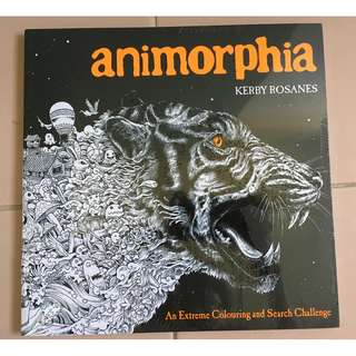 Animorphia : An Extreme Coloring and Search Challenge