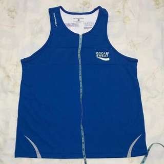 Pocari Sweat Singlet Men's Large L Size