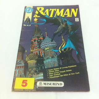 Batman No.5 - Misurind tahun 1990