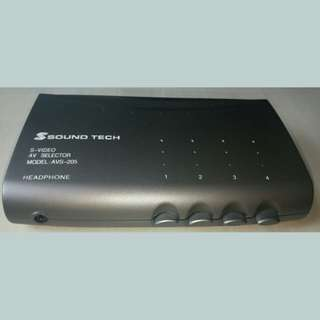 Sound Tech S-Video AV Selector