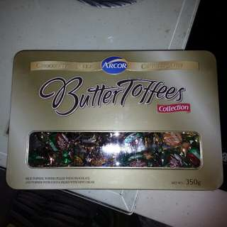 Arcor Butter Toffees 牛油拖肥糖/朱古力