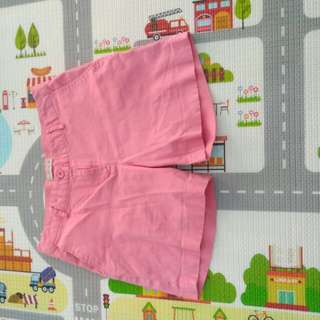 Connection pink short pants