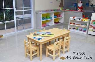 Montessori-Inspired Wooden Kids Table