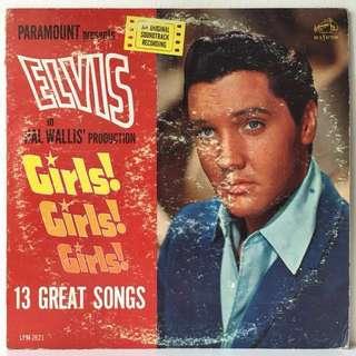 Elvis Presley – Girls! Girls! Girls! (1962 USA Original - Vinyl is Excellent)