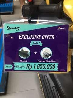 Promo vespa LX 125 iget (promo sampai 25 februari)