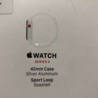 全新未拆包裝Apple Watch Series 3