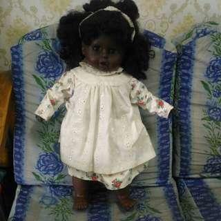 Dark skin doll