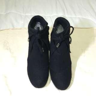 SM Parisian Felt Boots