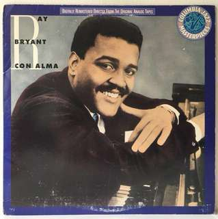 Ray Bryant ‎– Con Alma (1988 US Remastered Reissue - Vinyl is Mint)