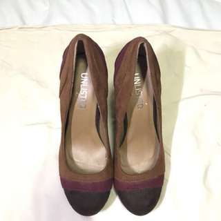 Unlisted Color Block Heels