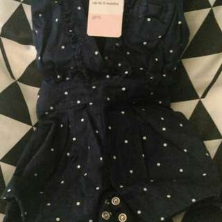 Lightly Used Mothercare Playsuits for Baby Girl