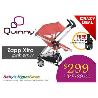 [CLEARANCE SALE]  Quinny Zapp xtra