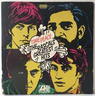 The Rascals – Time Peace: The Rascals' Greatest Hits (1968 US Original in Gatefold Sleeve - Vinyl is Very Good)