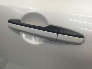 Door handle dechrome