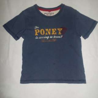 PONEY BOY 3-4 YRS