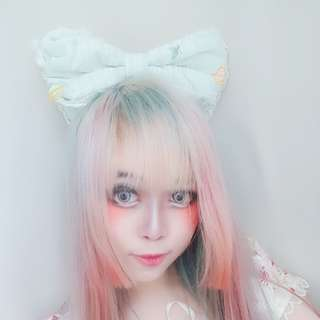 Metamorphose Temps De Filles Mint Headbow Katyusha Lolita Hair band fruits print