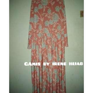 Gamis oren by irene hijab