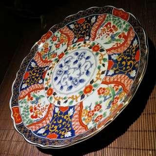 有田彩瓷茶點盤