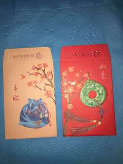Red Packet Angpau 8pcs For Collection OCBC