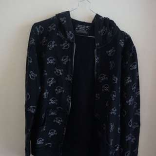Ninety Degrees Jacket - Black Skull