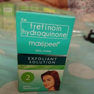 Maxipeel Exfoliant Solution #2(15ml)