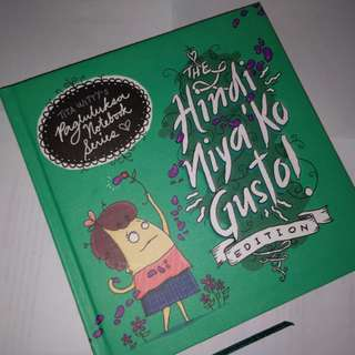 Tita Witty: Hindi Nya ko Gusto Notebook series