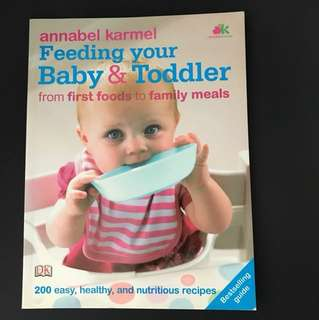 Book: Feeding your Baby & Toddler by Annabel Karmel