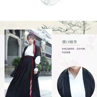 古代女士扮演服裝