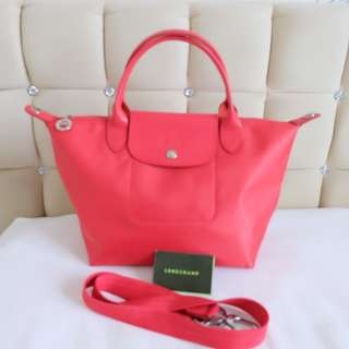 Longchamp neo pink