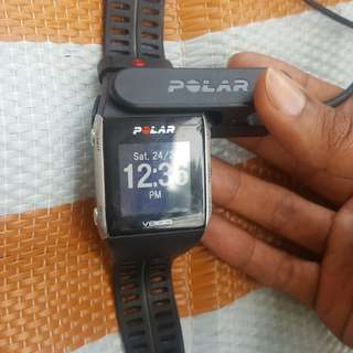 Poar v800 and fitbit charge 2