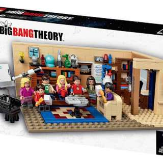 Lego Ideas Big Bang Theory