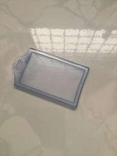 Transparent card holder