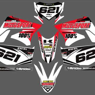 Sticker for klx150 s dan l
