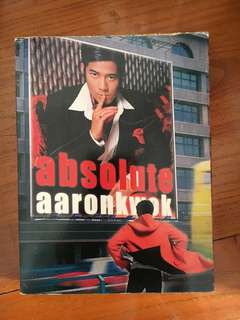 郭富城2001年CD absolute aaron kwok