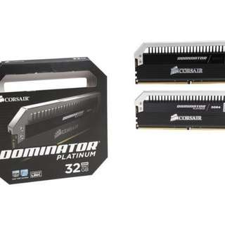 Corsair Dominator 32gb 16x2 3000mhz