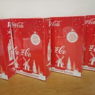 Coca cola 可口可樂荷蘭xmas版box set