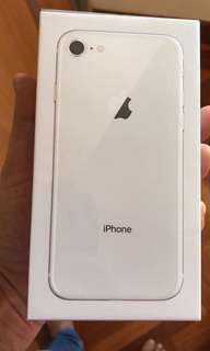 IPHONE 8  64 GB BRAND NEW SELAD PACK Apple warranty