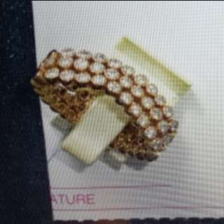 Diamond Bracelet Ring