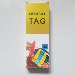 BNIB Cute Blue Luggage Tag
