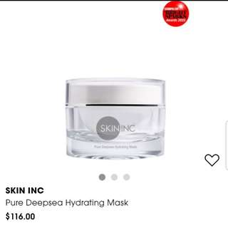 Brand new SKININC pure deepsea hydrating mask