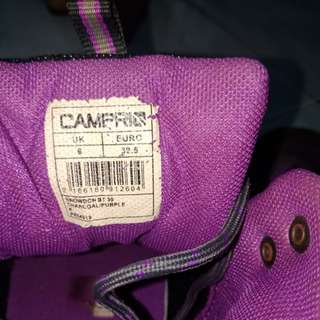 Pre-Loved Campri Shoes Charcoal Purple