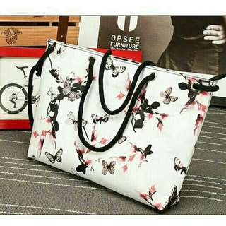 Floral Butterfly Bag