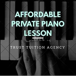 Affordable Private Piano lesson