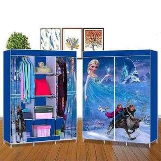 3D curtain  frozen wardrobe